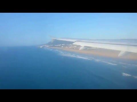 Tangier, Morocco Ibn Batouta Approach Airbus A320