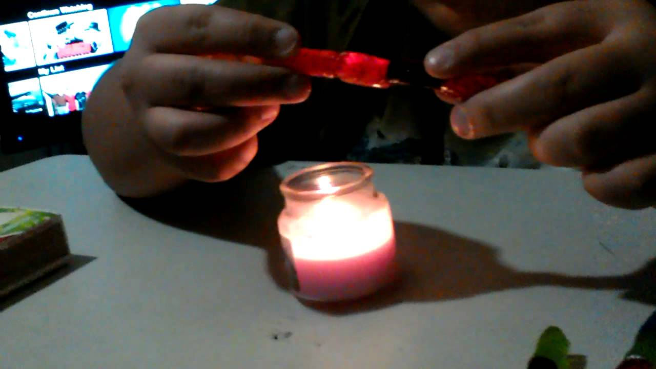 How to make a Prison Shank out of Jolly Ranchers - YouTube