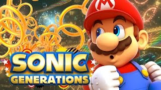 IT'S-A ME! | Sonic Generations w/ Mods | Super Mario & Rainbow Road