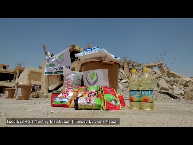 IRAQ MONTHLY FOOD PARCELS DELIVERED IN MOSUL,  : AUGUST 2018