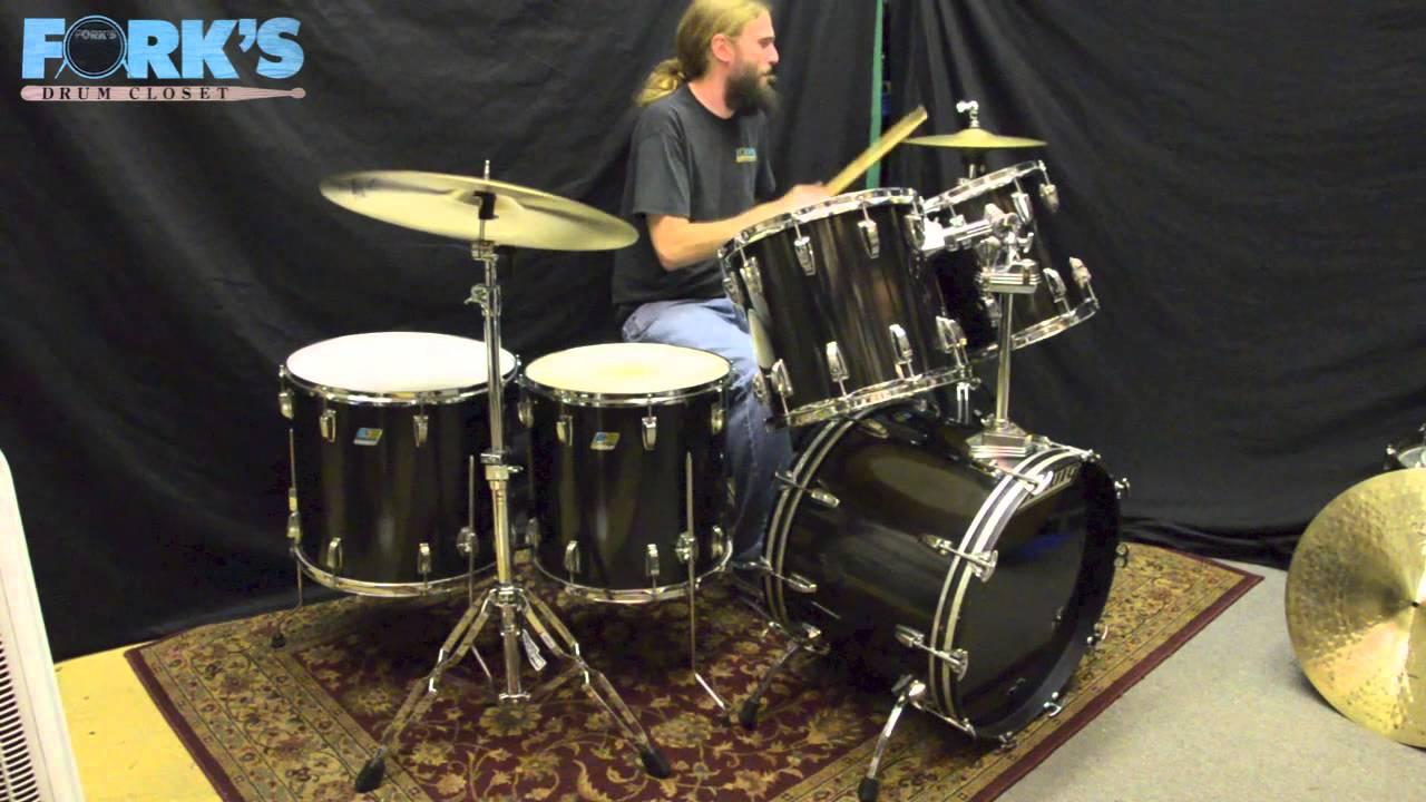 1980 ludwig drum set for sale youtube. Black Bedroom Furniture Sets. Home Design Ideas
