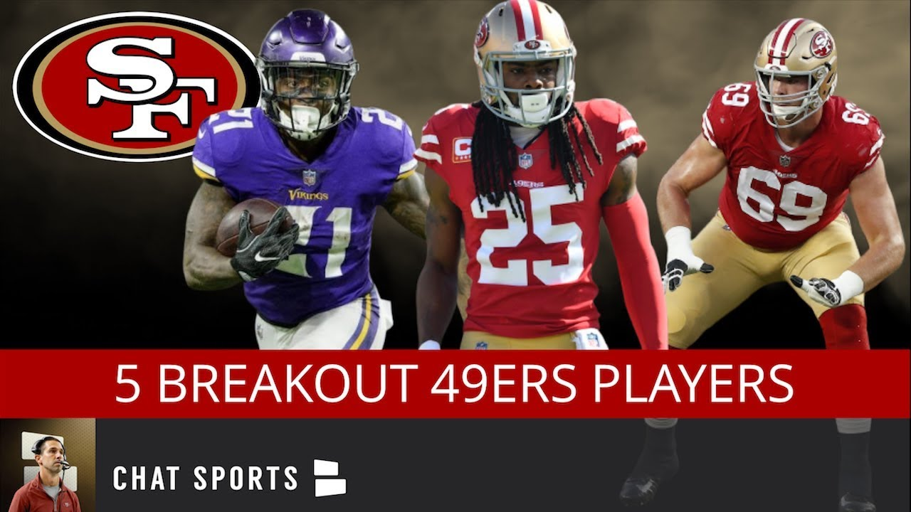 factory authentic 3ef43 06e71 5 Breakout Players For The 49ers in 2019 Including Richard Sherman, Dante  Pettis & Jerick McKinnon