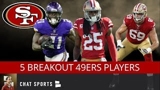 5 Breakout Players For The 49ers in 2019 Including Richard Sherman, Dante Pettis & Jerick McKinnon