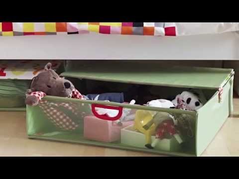 Under Bed Storage IKEA Home Tour