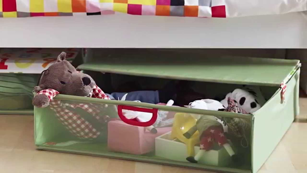Under Bed Storage Ikea Home Tour Youtube