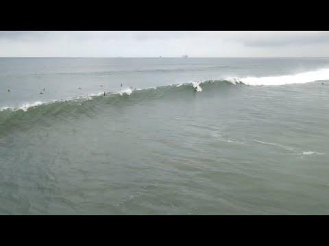 Huntington Beach, CA, Surf, 12/14/2019 AM - Part 3