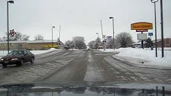 Icy Trip Around South Sioux City, Nebraska