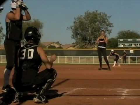 Jackie Buechler Pitching 2009 (Slow)