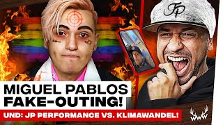 Miguel Pablo: FAKE OUTING! • JP Performance vs. Klimawandel | #WWW