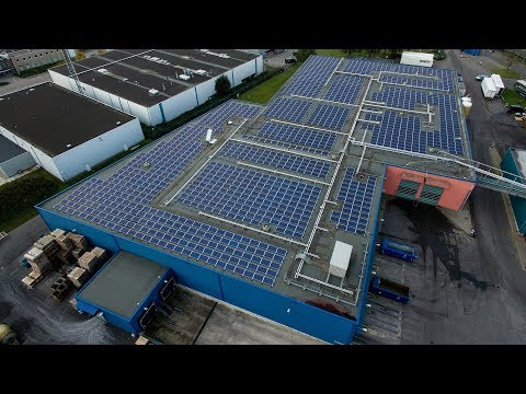 Cameravision: VanDrie Group - Oukro installs 1,578 solar panels on the roof