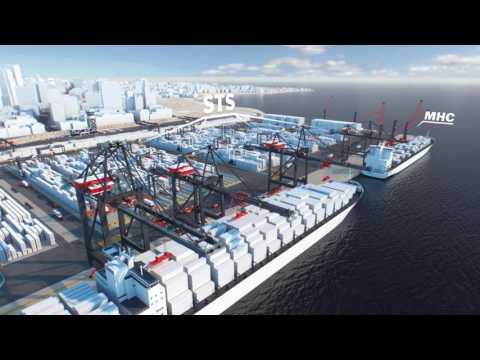 Новые портовые решения от компании Konecranes