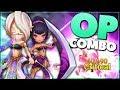 SUMMONERS WAR: Arena Damage Testing - Deva (Light Chakram Dancer) & Martina (Dark Boomerang Warrior)