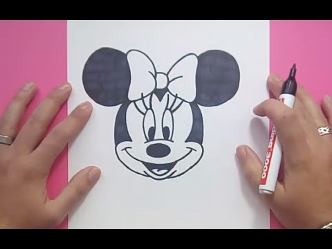 Como Dibujar A Minnie Paso A Paso 2 - Disney | How To Draw Minnie 2 - Disney