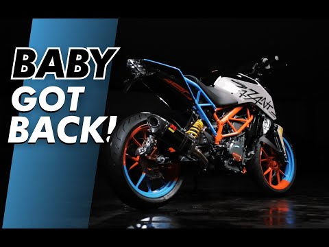 TAIL TIDY for KTM 125 - 390 DUKE MY 2017+ | BAGOROS PERFORMANCE |