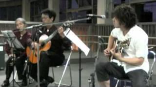 2009年8月14日 美唄駅ライブより 岸君という美唄で活躍している...