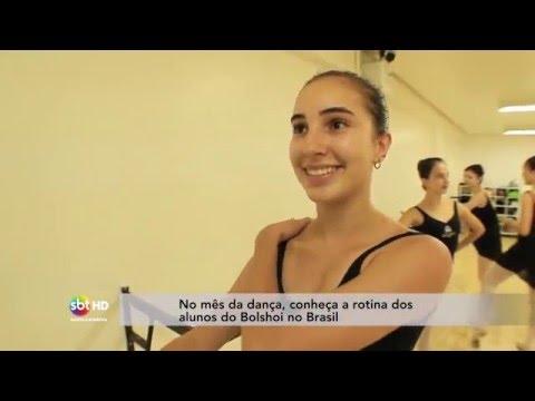 No mês da dança, conheça a rotina dos alunos do Bolshoi no Brasil