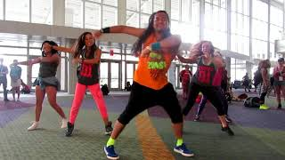 Buscando Huellas - Major Lazer (feat. J Balvin & Sean Paul ) Coreografia Zumba by Criz Antonio