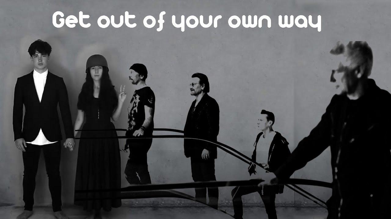 Resultado de imagen de u2 get out of your own way