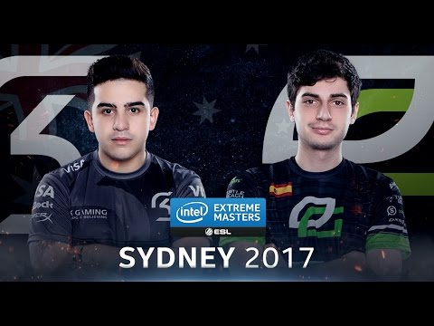 CS:GO - SK vs. OpTic [Train] Map 1 - Semifinal - IEM Sydney 2017