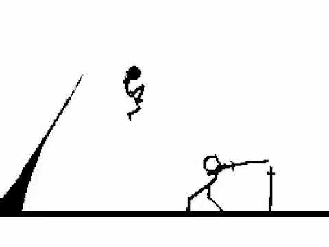 100 Stick Figure Fight Ninja Pt2 Youtube