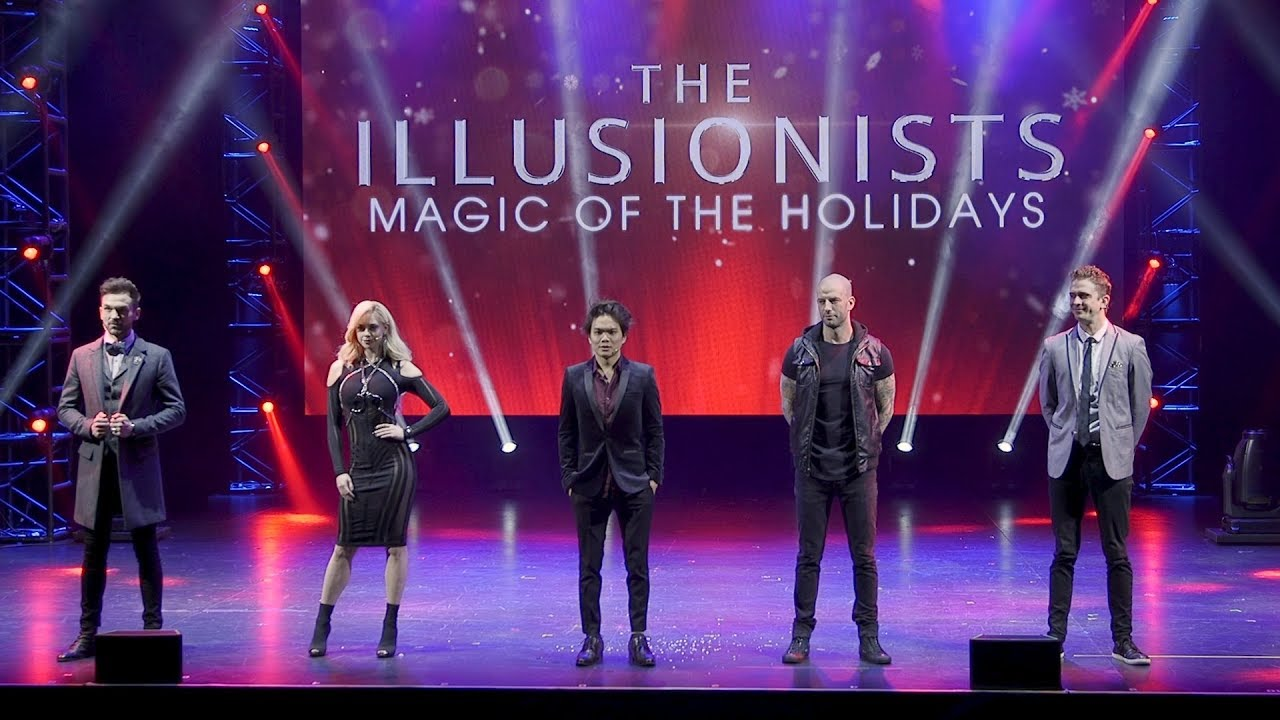 Sample The Holiday Magic Of The Illusionists On Broadway