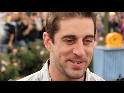 Super Bowl MVP Aaron Rodgers at Disney World - Green Bay Packers interview