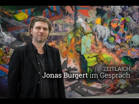 Was bleibt ist schöner Dreck. Im Gespräch mit Jonas Burgert in der Blain Southern Berlin
