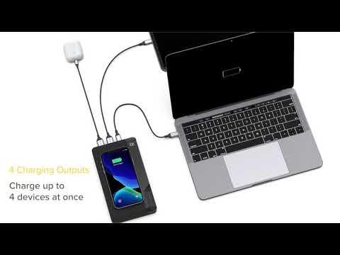 ALOGIC USB-C 27000mAh Ultimate Power Bank with Wireless Charging @ JB Hi-Fi
