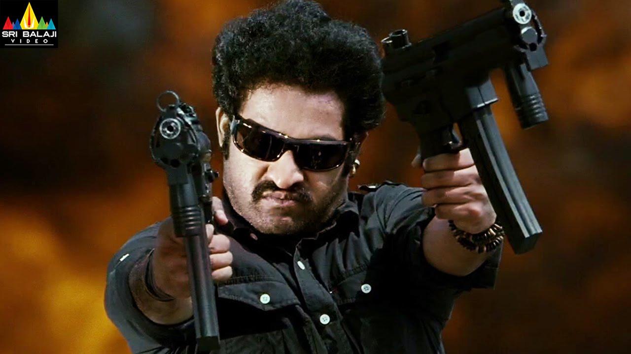 Shakti Movie Action Scenes Back to Back | Jr NTR, Jackie Shroff, Sonu Sood | Sri Balaji Video