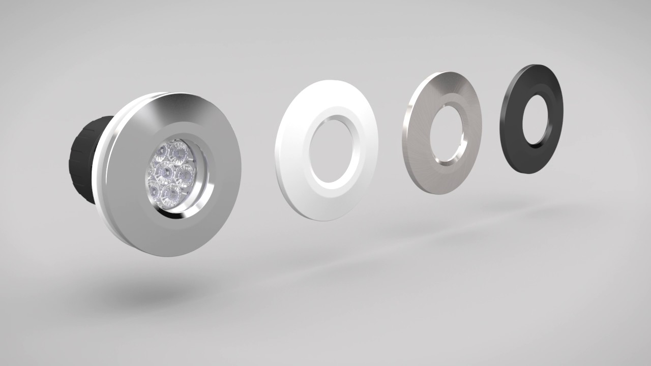 Gu10 downlight replace the traditional gu10 spotlights