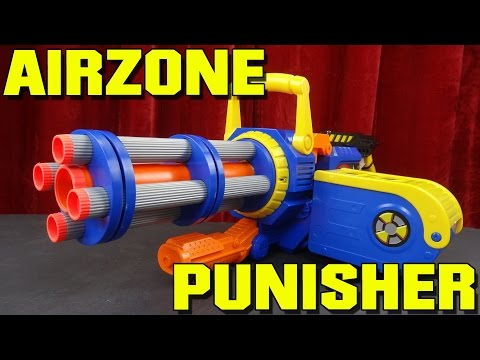 Prime Time Toys AirZone Punisher Gatling Blaster How To
