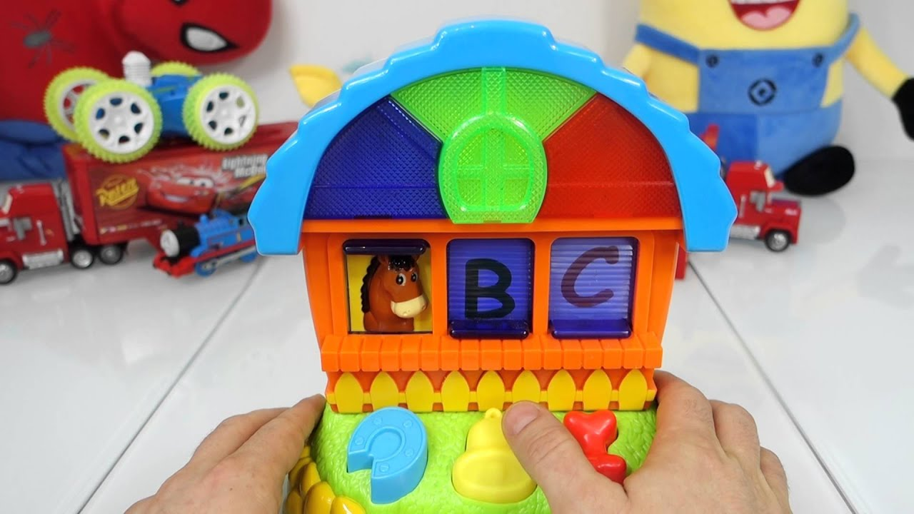 POP UP TOY learning colors TOY FOR KIDS fun for kids ANIMAL HOME
