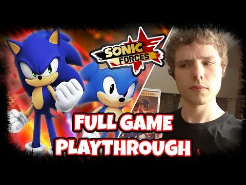 SONIC FORCES - FULL GAME PLAYTHROUGH/LET'S PLAY (All Stages & Cutscenes)