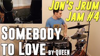 Somebody to Love - Queen - Drum Cover