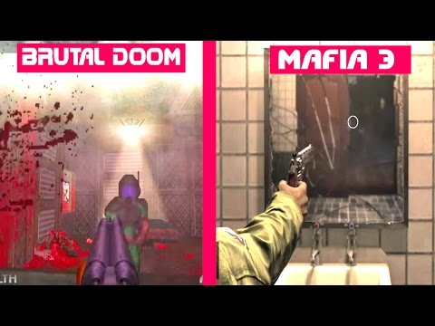 MAFIA 3 vs Brutal DOOM 64