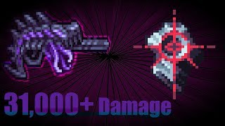 Terraria crazy Buffed Void Dragon vs Calamity Mod Boss Rush