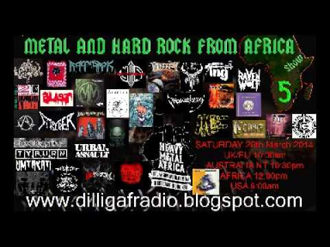 The Metal & Hard Rock From Africa Show Episode 5 Part 3