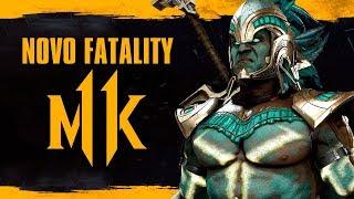 Mortal Kombat 11 - Fatality tecnológico, revelação de Kotal Kahn e Jacqi Briggs