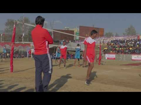King of Wing Spikers Volleyball Nepal  Superb player supurb Game