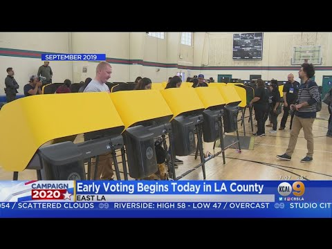 Early Voting Begins In LA County: What You Need To Know