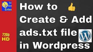 How to Create & Add Ads.txt file in Wordpress(Hindi) Mp3
