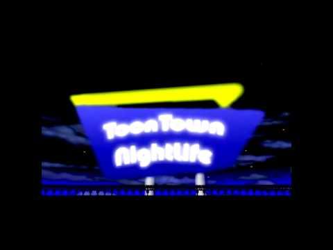 Toontown Nightlife - Donald's Dock Street