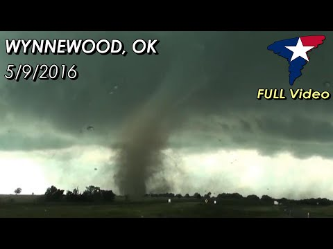 May 9, 2016 • Wynnewood, OK Tornado (COMPLETE VIDEO)