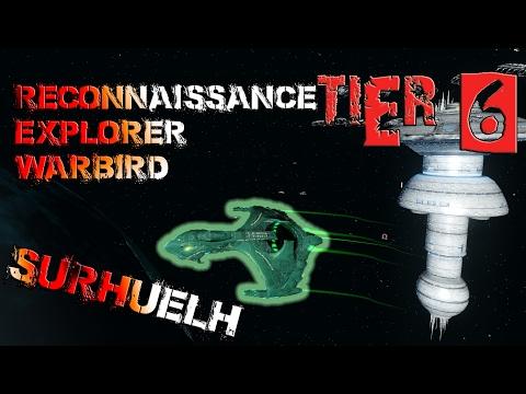 Surhuelh Reconnaissance Explorer Warbird [T6] – with all ship visuals - Star Trek Online