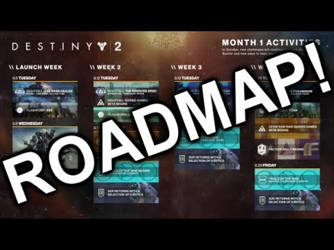 Destiny 2 Roadmap Reveals The New Features On The Way