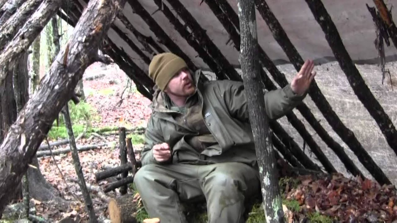 Awesome Survival Shelter Double Lean To Upgrade Youtube