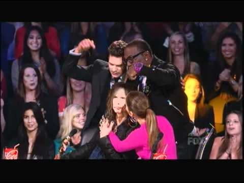 Joe Perry sings Happy Birthday to Steven Tyler on American Idol - HD