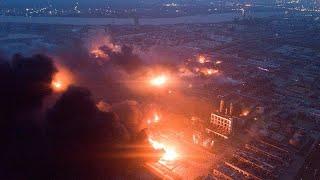 Über 40 Tote durch Explosion in Industriepark