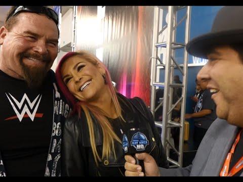 Father/Daughter Interview! Natalya & Jim Neidhart at WWE Wrestlemania 31 Axxess 2015!