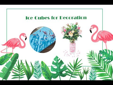 Acrylic Clear Ice Rock Fake Ice Cubes Plastic Ice Cubes for Decoration